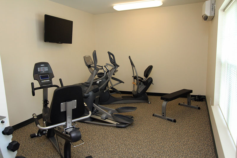 Fitness Center at The Legends at North Ponds